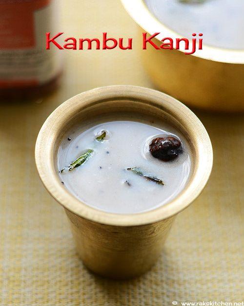 bajra-flour-porridge (Kambu kanji recipe)