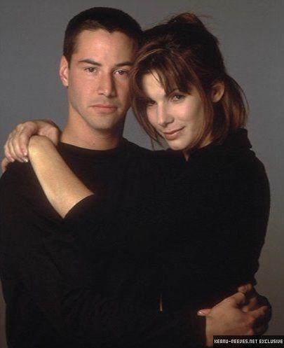 Keanu Reeves & Sandra Bullock                                                                                                                                                      More