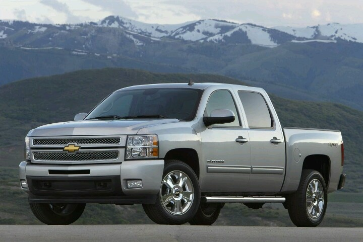 Chevy Silverado 2013. Some day I want one of these