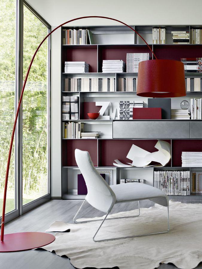 Flat.C by B & B Italia at @imm cologne   #design Antonio Citterio