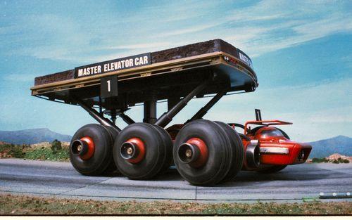 60s thunderbird puppet vehicle photos - Google Search