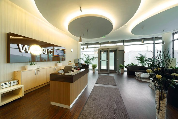 The waiting room and reception - Budapest, Hungary, Budapest Top Dental, A dental clinic in the capital of dental tourism.
