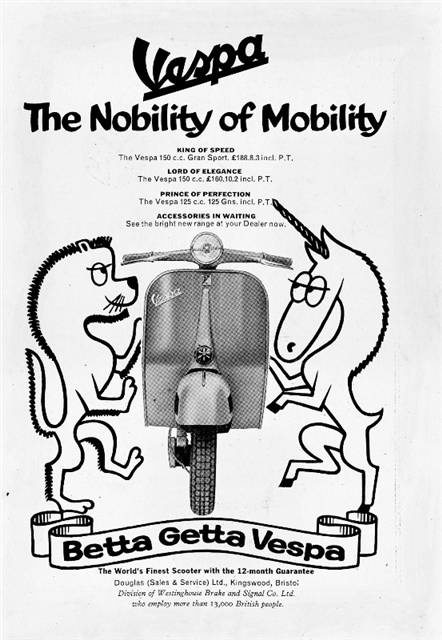 Vespa The Nobility Of Mobility