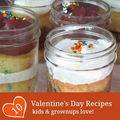 10 tasty valentine s day recipes for kids for Kid friendly valentine recipes