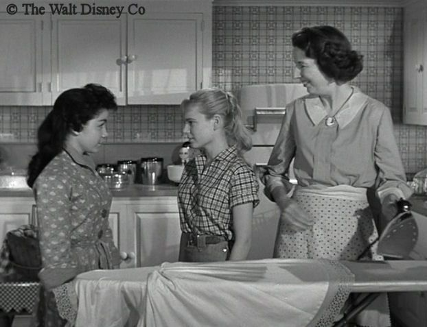 Original Mickey Mouse Club | Annette meets Jet Maypen (Judy Nugent), who delivers produce to the ...