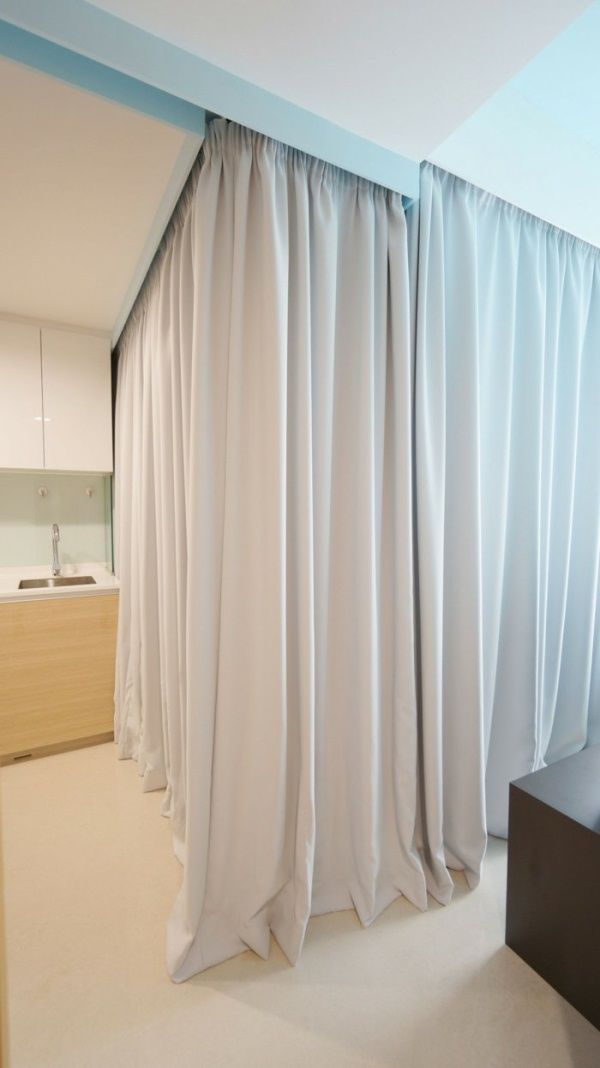 Best 25 Room Divider Curtain Ideas On Pinterest Curtain Divider Bed Curtains And Dorm Room