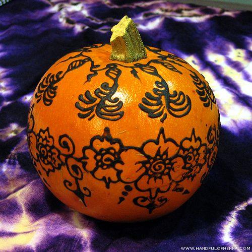 Henna Mini Pumpkin  1031 Halloween  Pinterest  Henna Pumpkins And Minis