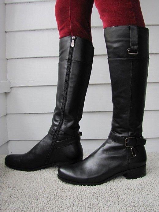 11 best Narrow calf boots images on Pinterest