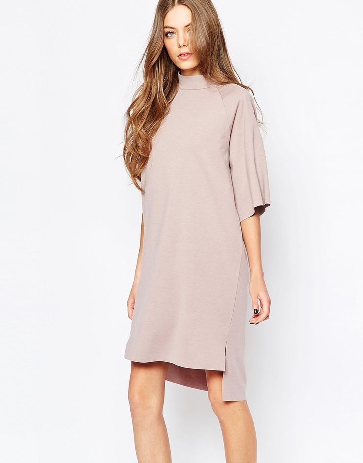 Selected Coda High Neck Dress