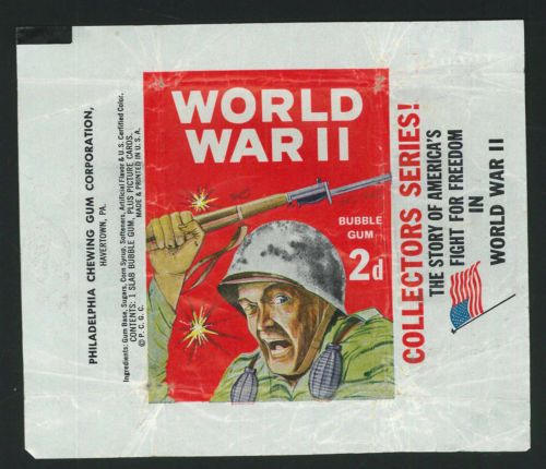 Philadelphia-Gum-War-Bulletin-Wax-Wrapper