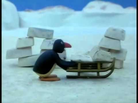 Pingu - Pingu bouwt een iglo - YouTube