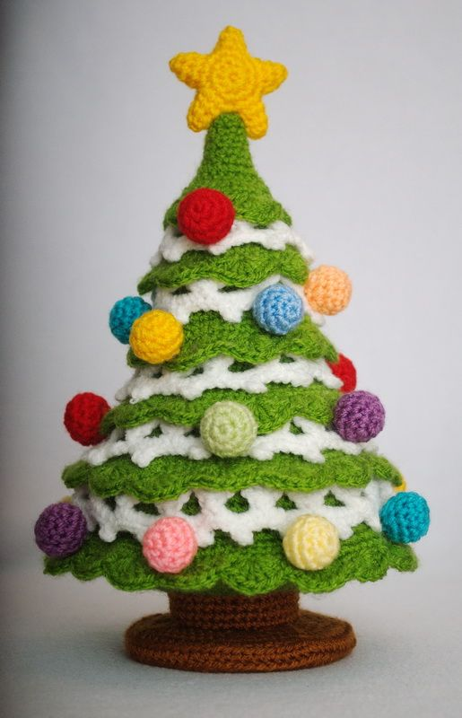 Crochet Christmas Tree - crochettoys.com.u... - Crafting Lifestyle