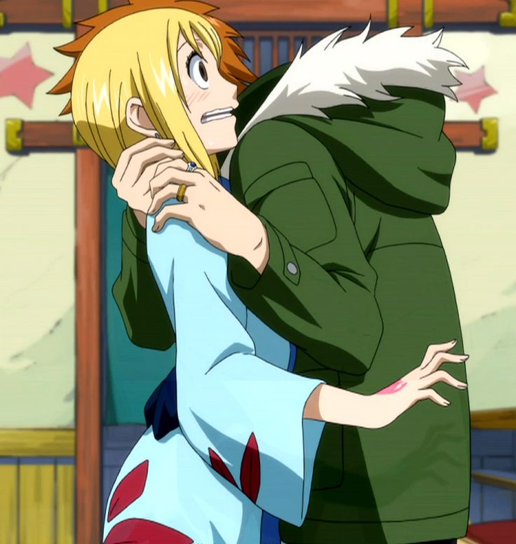 Fairy Tail, Loke and Lucy