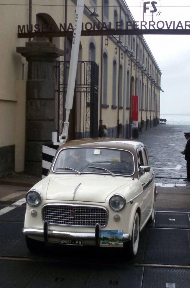 Domenica 15 maggio negli spazi aperti del Museo di Pietrarsa sono state esposte le mitiche Fiat 1100 per il raduno automobilistico. Maggio 2016