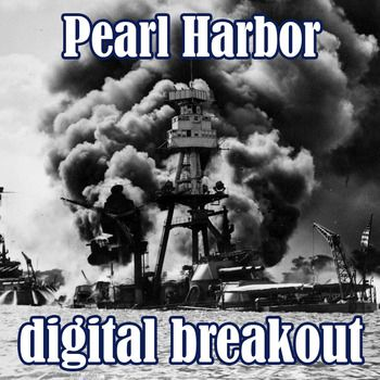 It's 1942.  The Japanese have attacked Pearl Harbor.  They plan to attack again, but you can stop them!  You've got the code-breaking information, but in order to get to it you'll have to figure out the combinations to unlock the box where the decryption information is locked.This digital breakout game includes the following topics:The attack on Pearl HarborRoosevelt's address to CongressCongress votesAmerican retaliation - the Doolittle RaidThe 442nd InfantryYou can have students do this…