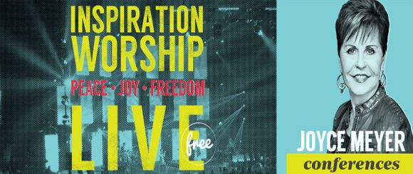 Joyce Meyer – Inspiration Worship | Freeman Coliseum