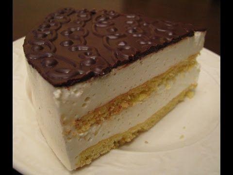 "Cake souffle …...          Торт ""Птичье молоко"" на агар-агаре - YouTube"