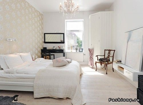 Спальня в скандинавском стиле / скандинавский стиль в спальне