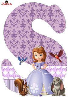 Alfabeto de Princesa Sofía.