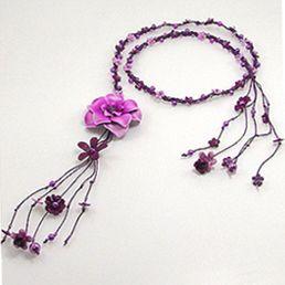 Curea din piele mov - aceste accesorii handmade pot fi purtate si drept coliere. http://www.argintarie.ro/Curea-piele-mov-p-17100-c-379-p.html