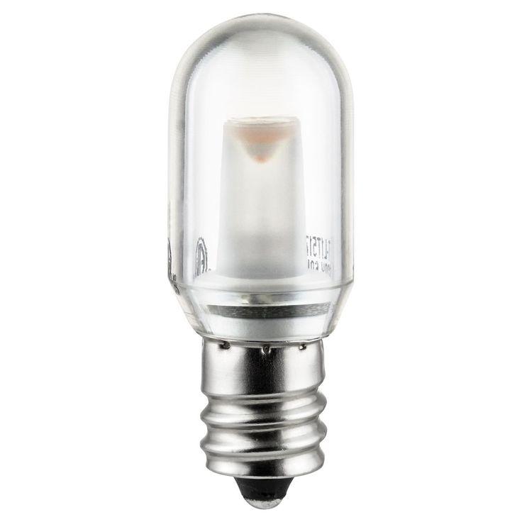Sunlite T8 LED 10W 120V E12 Candelabra Base 2700K Tubular Bulb