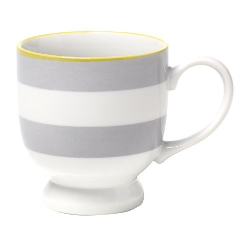 gray and yellow mugs from west elm!! perfect in my kitchen :)