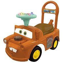 disney pixar cars 2 ride on activity car spy mater by kiddieland 4989