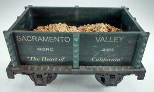 a hartland locomotive works hlw sacramento valley 2003 ngrc mini gondola