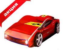 Детская кровать машина от 4790р. для мальчика. Купить кровать в виде машины в Москве!