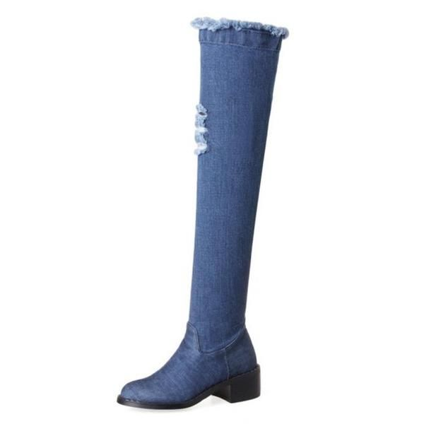 Women Stretch Faux Suede Over The Knee Boots Flat Thigh High Boots!  boots|boots outfit|boots flat|boots office|boots wedge|boots black|boots with dress| boots high heel|boots leather|boots fall|boots brown|boots leggings|boots lace up| boots 2018|boots summer|boots with jeans|boots winter