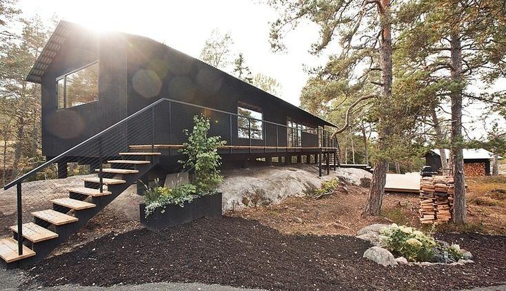 Holiday House Vindö by Max Holst Arkitektkontor.