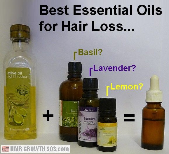 essential oils hair how to use