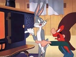 """Bugs Bunny -- """"Hot in there.....the girls have been asking for ya!"""""""