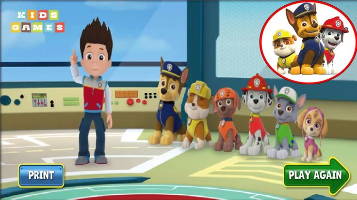 Nickelodeon Games to play online 2017 ♫Paw Patrol Pups Save the day 2017♫ Kids Games