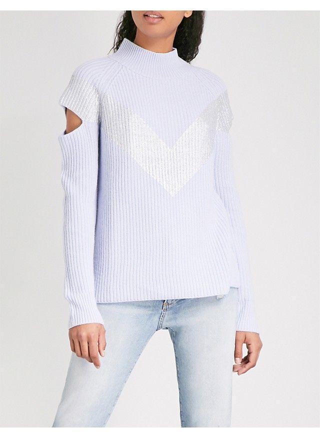 ZOE JORDAN - Graham wool and cashmere-blend jumper | Selfridges.com