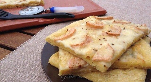 pizza pere gorgonzola