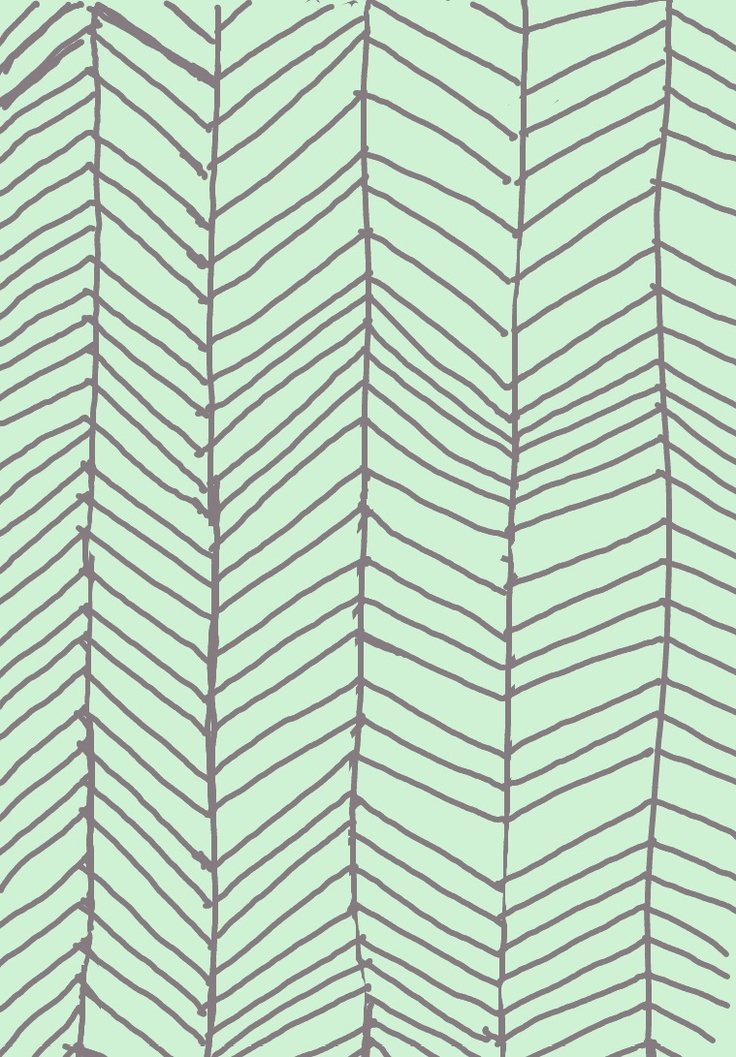 Mint Green and Grey Chevron phone background I made ...