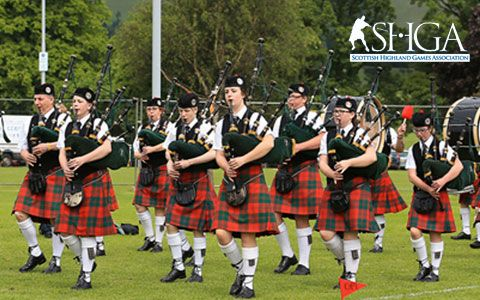 Highland Games - when and where
