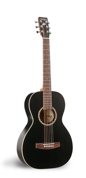 Art & Lutherie, AMI black cedar.  Canadian hand made guitar. The dreamed one…