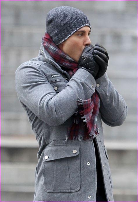 Jacket and scarf idea