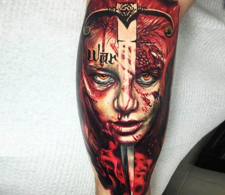 Women of the Apocalypse tattoo by Ben Kaye