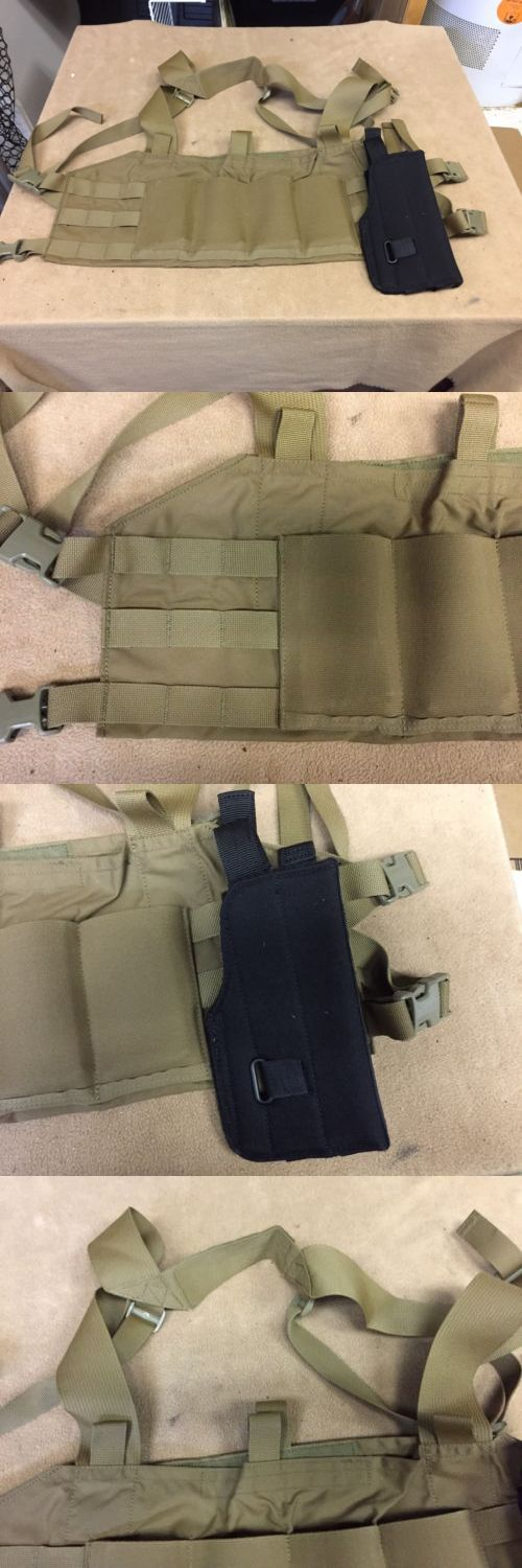 Chest Rigs and Tactical Vests 177891: Blue Force Gear 10 Ten Speed M4 Tactical Chest Rig Coyote Tan With 5.11 Holster -> BUY IT NOW ONLY: $50 on eBay!