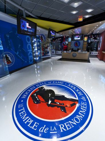 Hockey Hall of Fame, Toronto, Ontario, Canada