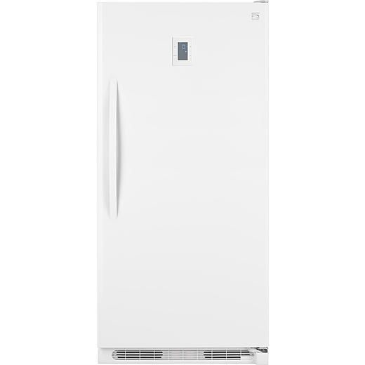 "Kenmore 17 cu. ft. Upright Freezer - White- Same height as fridge. $800, nice controls. Paint outside with great color. 34""w, 28.53 deep, 67.69"" tall"