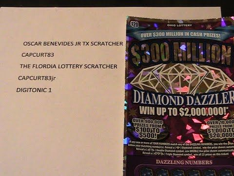 RESULTS GROUP SCRATCH ($20 OHIO LOTTERY TRIPLE DIAMOND DAZZLER) - (More info on: https://1-W-W.COM/lottery/results-group-scratch-20-ohio-lottery-triple-diamond-dazzler/)