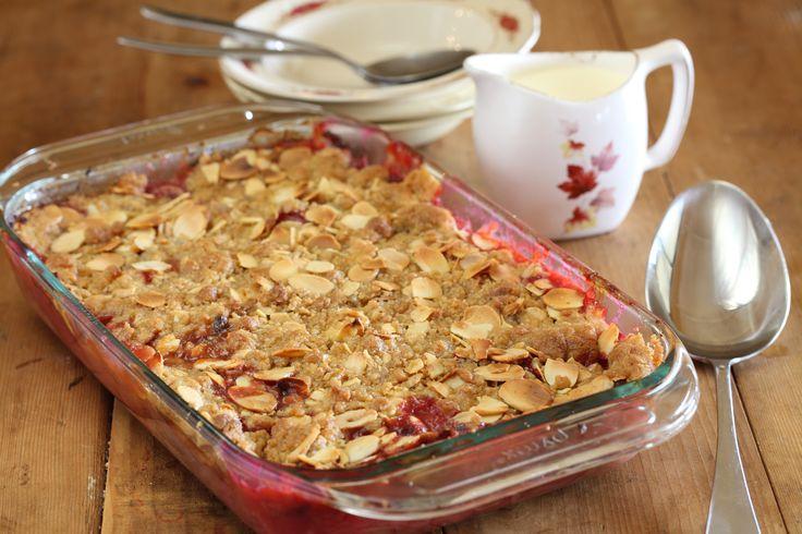 Rhubarb Crumble - Maggie Beer
