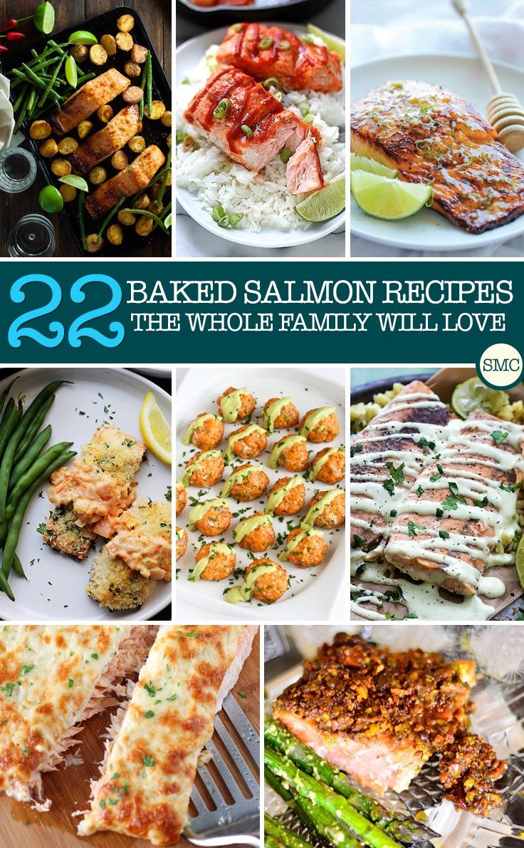 We need to eat more fish in our family - so I'm pinning these baked salmon recipes for meal planning day!