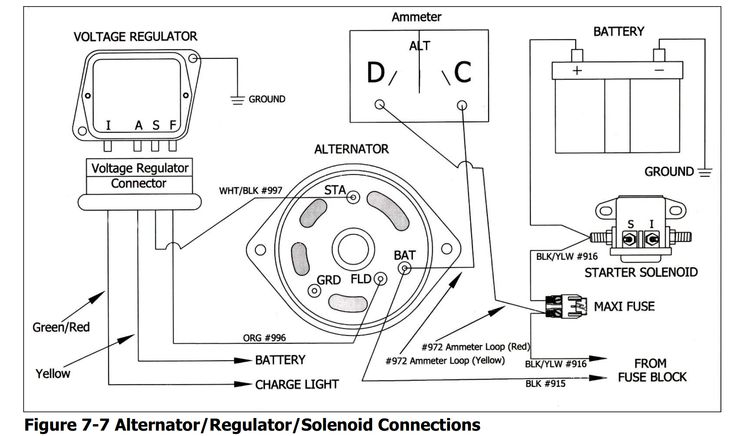 Diagram  Voltage Regulator Alt Wiring On 67 Coupe Have A