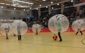 Bubble soccer is the brand new sports to enjoy your incredible weekends, holidays, parties or events with thrill and spills in Toronto city. Bubble soccer is a combination of playing soccer with an enormous 1.6m diameter zorb balls wrapped from head to waist with only players legs free to move. Bubble soccer is played as a team game with the object...