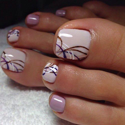 Best Toe Nail Art - 53 Best Toe Nail Art for 2018 - Nail Art HQ